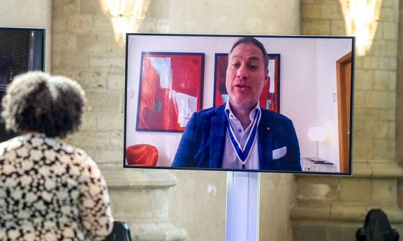 Awardwinnaar Sander de Kramer staat op tegen onrecht