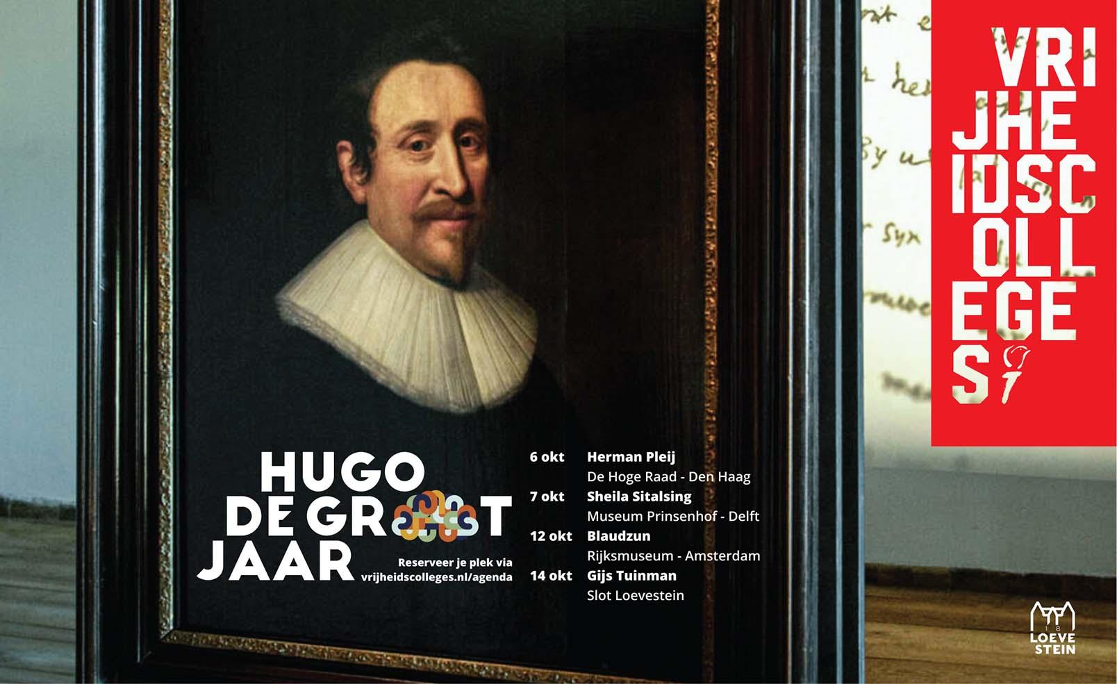 Hugo de Grootjaar | Vrijheidscolleges