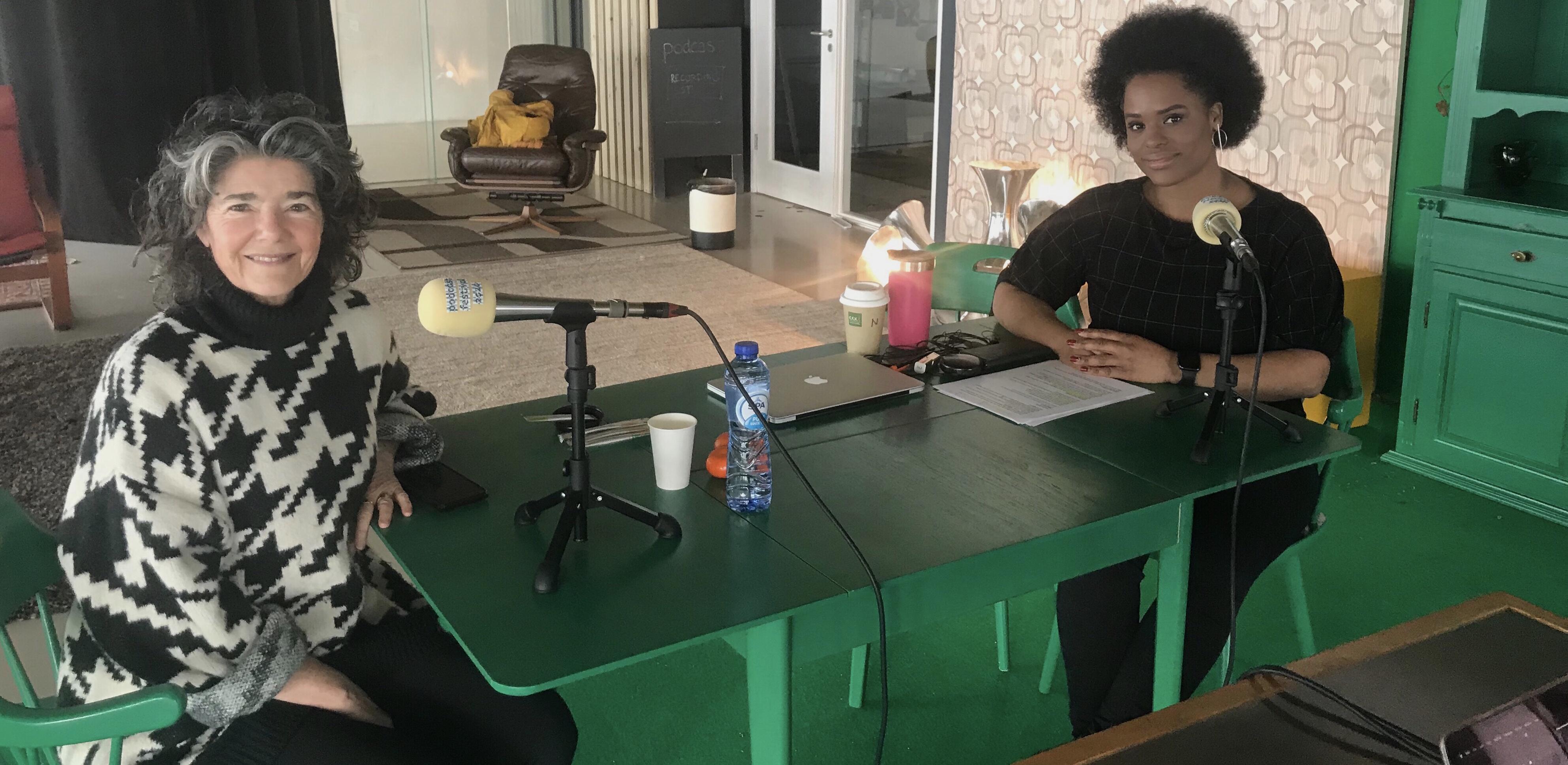 Podcast Vrijheidsgasten met Dieuwertje Blok